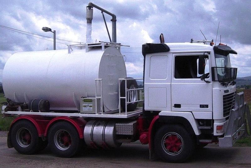 tanker truck on board scales