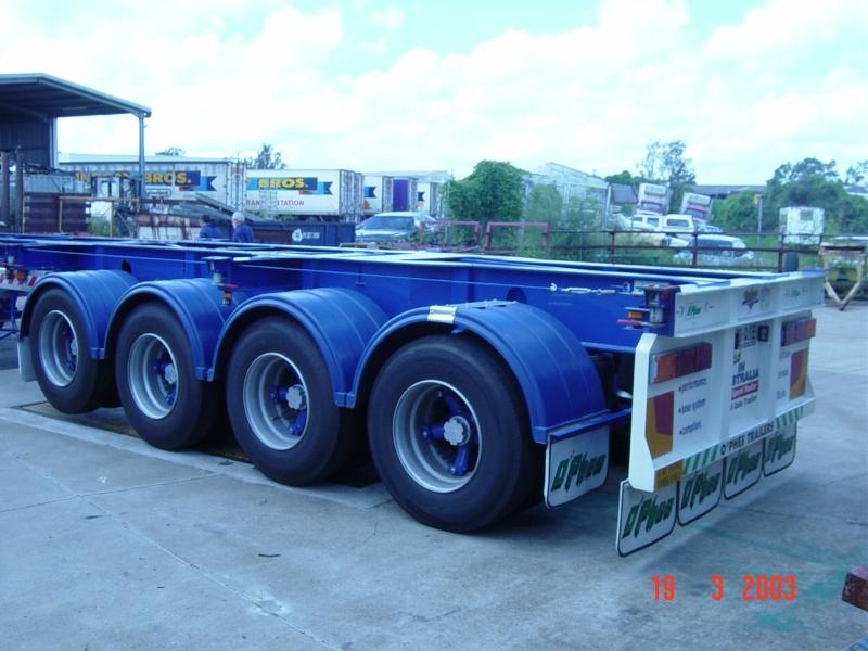 quad axle on board scale