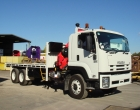 rigid truck  on board scales