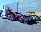 low loader on board scales