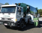 garbage truck on board scales