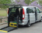 Mercedes benz vito van braun vista lift unfold position