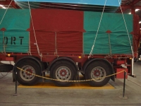 Trailer axle on weighbridges