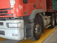 Steer axle on weighbridges preview