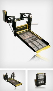 braun-century-xt wheelchair loader