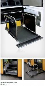 braun-uvl wheelchair loader
