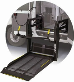braunability century series wheelchair lift